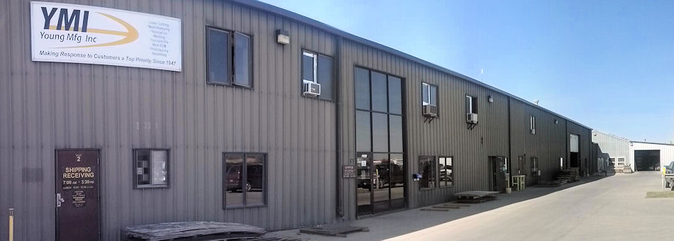 Front of building at Young Mfg.