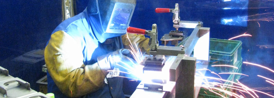 Welding at YMI